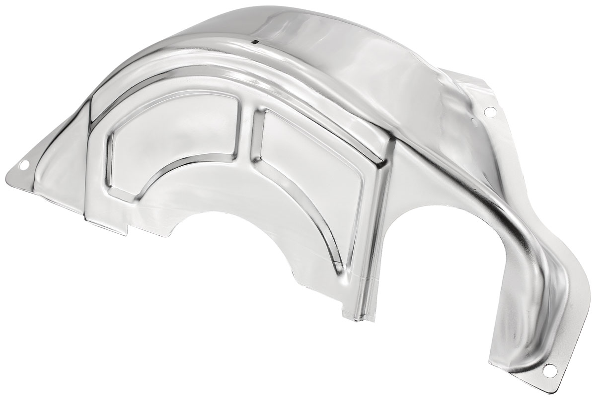 Photo of Flywheel & Torque Converter Cover (Chromed) Powerglide