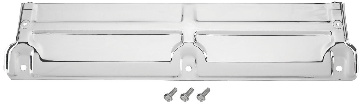 "Photo of Radiator Top Support, Chromed (3-Bolt) 24"" x 5-1/4"""