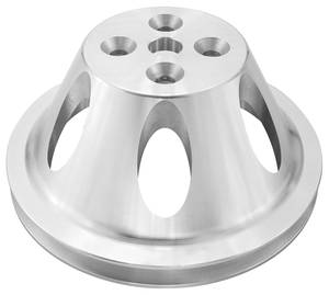 "1964-1968 Chevelle Pulley, Small-Block (Aluminum) Water Pump Single, 7.08"" Dia."