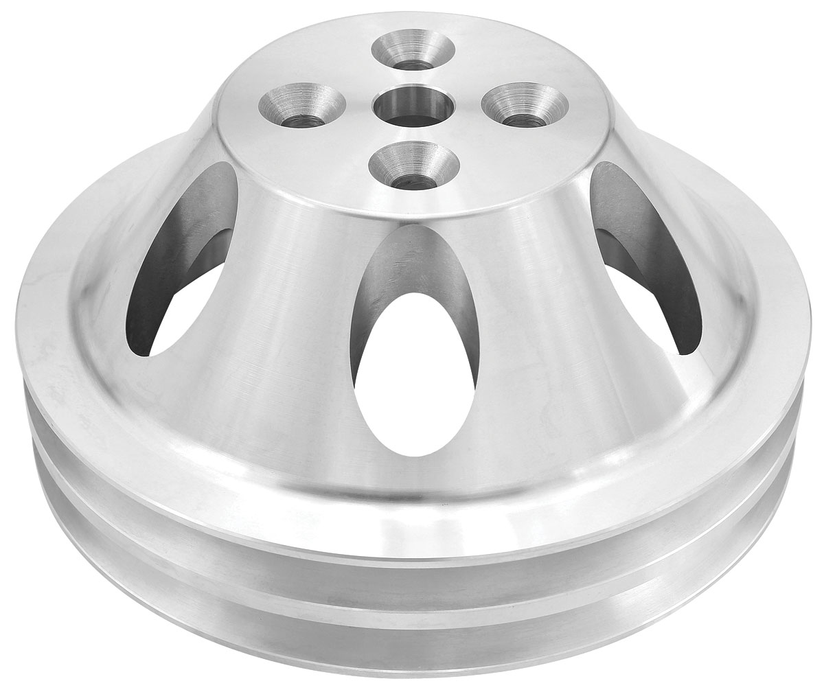 """Photo of Pulley, Small-Block (Aluminum) Water Pump double, 6.31"""" dia."""