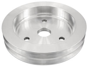 "1964-1968 Chevelle Pulley, Small-Block (Aluminum) Crankshaft Double, 7.28"" Dia."
