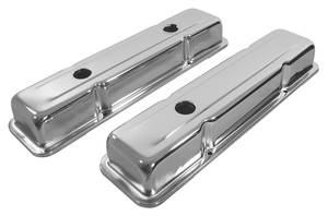 1978-88 Malibu Valve Covers, Chrome 305-350