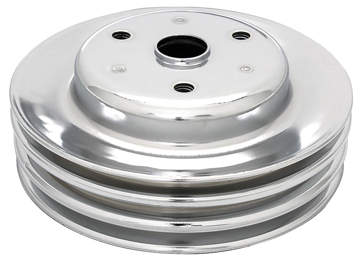 "Photo of Pulley, Small-Block Crankshaft triple, 7.74"" dia"