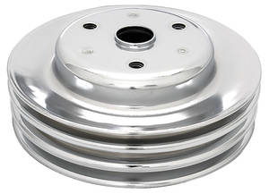 "1969-77 Chevelle Pulley, Small-Block Crankshaft Triple, 7.74"" Dia."
