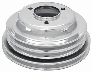 "1978-85 Monte Carlo Pulley, Big-Block Crankshaft Triple, 7.74"" Dia"