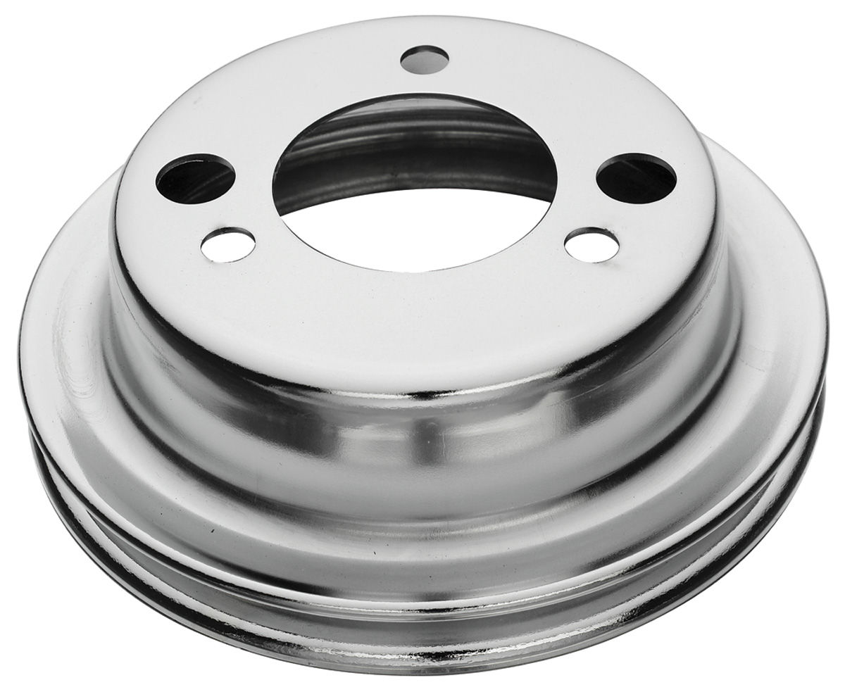 "Photo of Pulley, Big-Block Crankshaft add-on - 6.8"", w/AC"