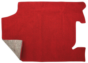 1966-67 Chevelle Trunk Mat, Loop Carpet