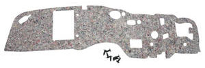 1968-72 GTO Firewall Insulation Pad w/Air