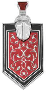 1971 Monte Carlo Grille Emblem, Crest