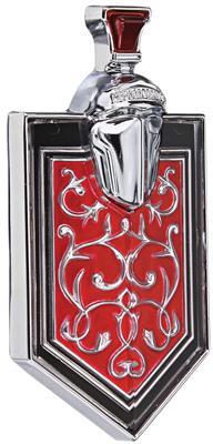 1972 Monte Carlo Grille Emblem, Crest