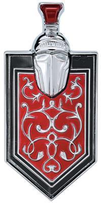 1973-75 Monte Carlo Grille Emblem, Crest