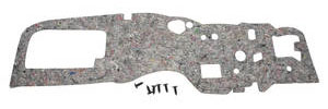 1968-72 GTO Firewall Insulation Pad w/o Air