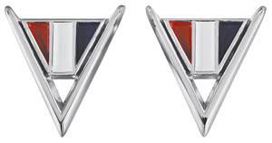 """Fender Emblem, 1964 Chevelle """"V"""""""