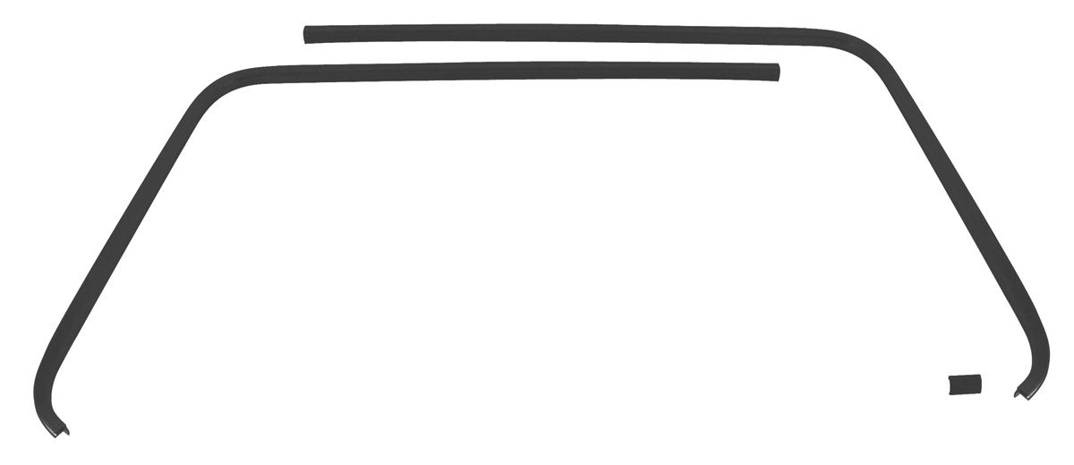 Trim Parts Cutlass/442 Headliner Seal Strip, Plastic