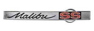 """Trunk Lid Emblem, 1965 """"Malibu SS"""", by TRIM PARTS"""
