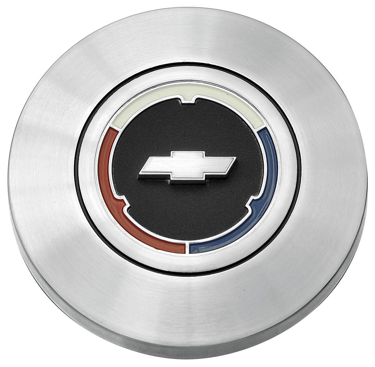 Photo of Horn Center Cap, Reproduction Bowtie, wood wheel