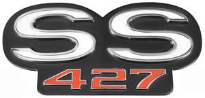 """Chevelle Grille Emblem, 1966 """"SS 427"""""""