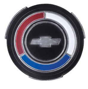 Chevelle Wheel Cover Emblem, 1967-68 Standard