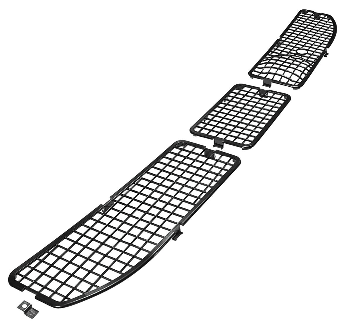 restoparts 1968 442 cowl grille insert w  ac