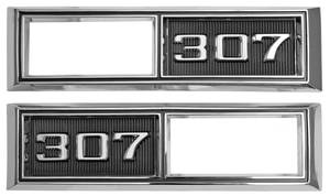 "Marker Bezels, 1968 Front (Chevelle & El Camino) ""SS 502"""