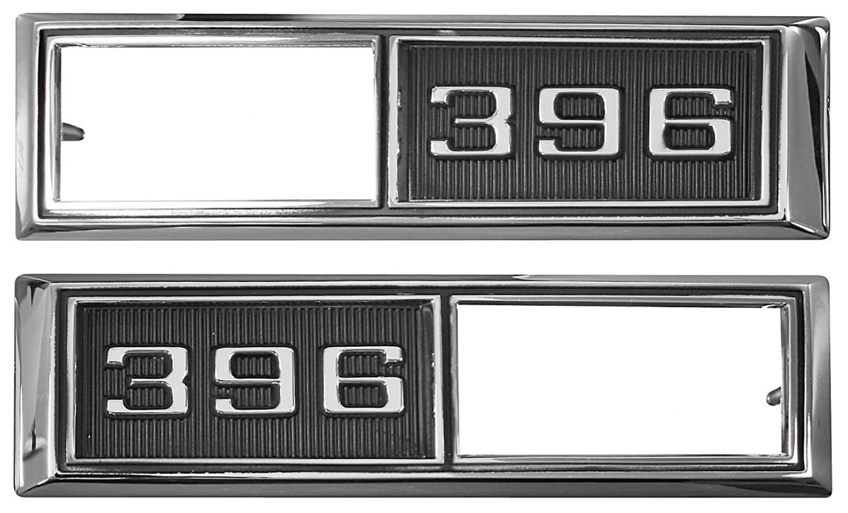 "Photo of Fender Emblem, 1968 Marker Lamp Bezel ""396"""