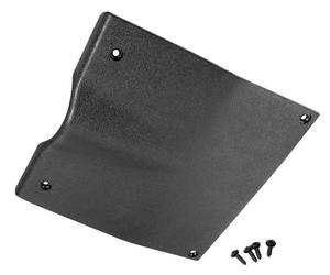1970-72 Monte Carlo Steering Column Cover, Lower Dash (Black)