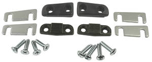 1965-67 LeMans Door Alignment Wedge (Convertible) w/Hardware, by TRIM PARTS
