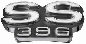"1969-1969 El Camino Grille Emblem, 1969 ""SS 396"", by TRIM PARTS"