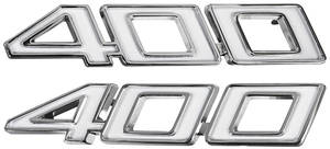 "Chevelle Fender Emblem, 1970-71 ""400"""