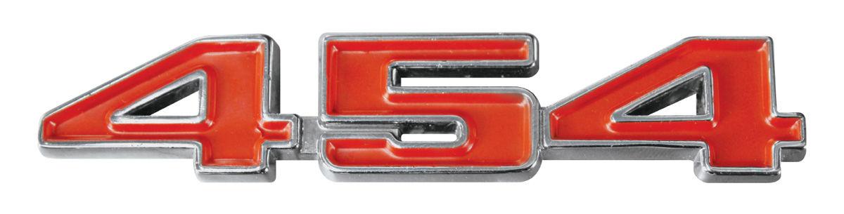 "Photo of Fender Emblem, 1970-72 ""454"""