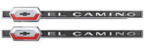 """1964-1964 El Camino Quarter Panel Emblem, 1964 """"El Camino"""", by TRIM PARTS"""