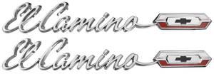 """1965-1965 El Camino Quarter Panel Emblem, 1965 """"El Camino"""", by TRIM PARTS"""
