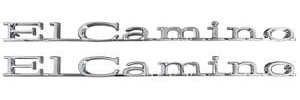 "Quarter Panel Emblem, 1967 ""El Camino"", by TRIM PARTS"