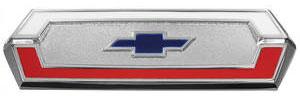 El Camino Tailgate Emblem, 1968