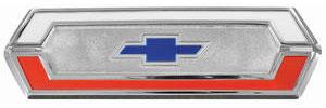 1969-1970 El Camino Tailgate Emblem, 1969-70, by RESTOPARTS