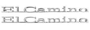 """Fender Emblem, 1970 """"El Camino"""""""