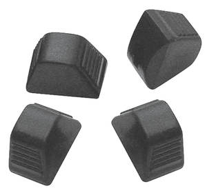 1970-74 Monte Carlo Climate Control Knob (Black, Air Conditioning Knobs) Four-Piece, by TRIM PARTS