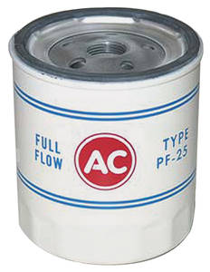 1969-74 El Camino Oil Filter, AC Delco PF-25, Short
