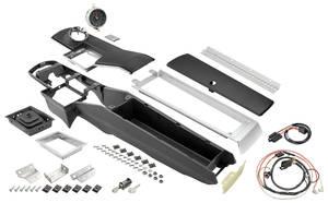 Chevelle Console Kits, Center (1966-67 4-Speed) w/Clock