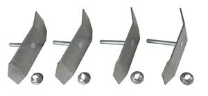 1964-67 El Camino Top Of Tailgate Installation Clips