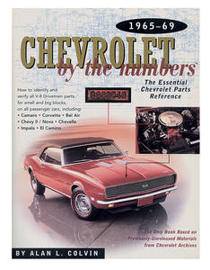 1965-1969 Chevelle Chevrolet By The Numbers, 1965-69