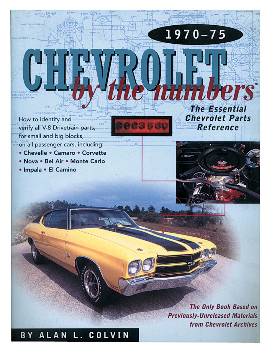 Photo of Chevrolet By The Numbers, 1970-75