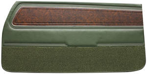 Door Panels, 1970 Reproduction Front, Cutlass Supreme Holiday Coupe, Supreme & 4-4-2 Conv. – w/Pigskin Vinyl (Conv.)