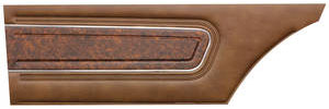 Door Panels, 1970 Reproduction Rear, Cutlass Supreme Holiday Coupe – w/Pigskin Vinyl (Coupe)