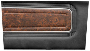 Cutlass Door Panels, 1970 Reproduction Rear, Supreme & 4-4-2 Holiday Convertible – w/Pigskin Vinyl (Conv.)
