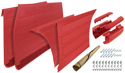 1968-1968 GTO Door Panel Restoration Kit (Complete) Convertible