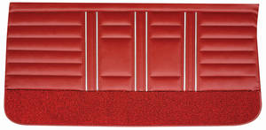 Cutlass Door Panels, 1967 Reproduction Rear, Sport Sedan