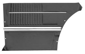 Cutlass Door Panels, 1968-69 Reproduction Rear, Coupe