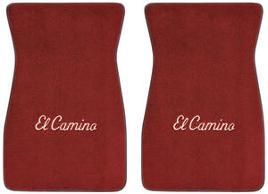 "1978-87 Floor Mats, Carpet Matched Oem Style Carpet (Acc) ""El Camino"" Block"