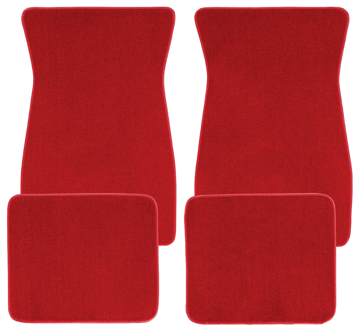Photo of Floor Mats, Carpet Matched Oem Style Carpet plain